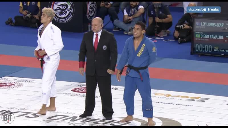 Levi Jones-leary vs Diego Ramalho fin adgs2019