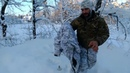 Зимняя горка на флисе с мембраной. Multicam Alpine. Короткий обзор моего зимнего мультика.