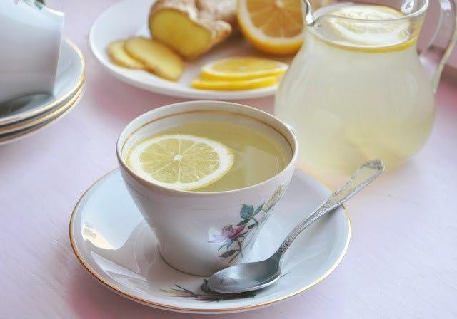 Имбирный чай. Ибо дракон худеет...