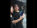 Джастин с поклонниками в Нью-Йорке (21 июня)