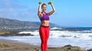 Sculpted Arms back chest shoulder Core Workout with Weights