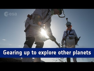 Pangaea-X test campaign – gearing up to explore other planets