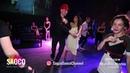 Anton Shcherbak and Viktoriya Romas Salsa Dancing at Moscow MamboMania weekend, Saturday 27.10.2018