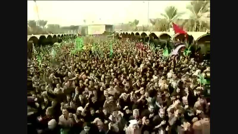 Паломники со всего мира, посещают могилу Имама Хусейна(А) в Кербале <3