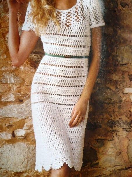 Платье. Подборка схем (7 фото) - картинка