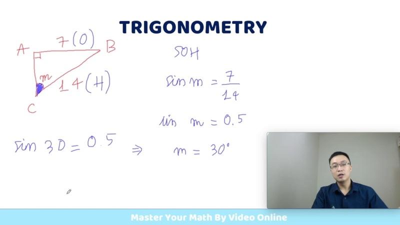 [Trigonometry 4-1] Kiến Thức Cơ Bản Tìm Ngược Góc Trong Tam Giác - Toán Quốc Tế IGCSE