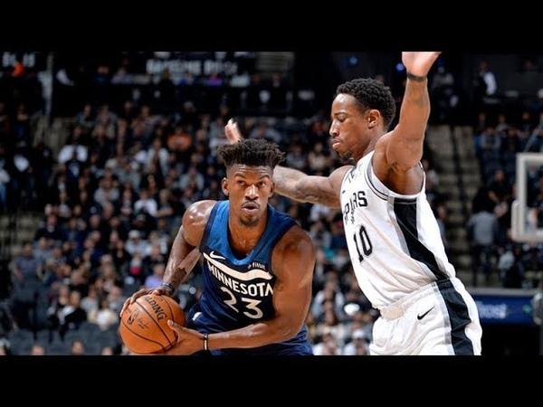 Minnesota Timberwolves vs San Antonio Spurs - Full Game Highlights   Oct 17, 2018   NBA 2018-19