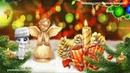 ZOOBE зайка Замечательное Поздравление с Рождеством