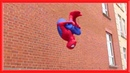 SPIDERMAN Fights Crime in Real Life | Parkour, Flips Kicks