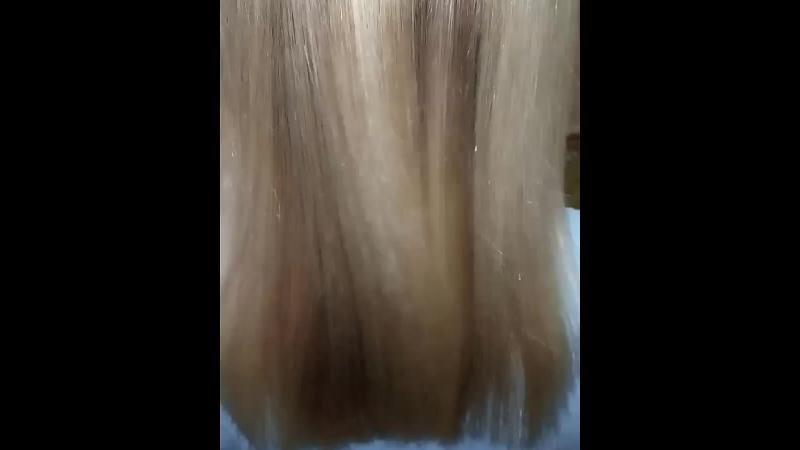 🌈Ботокс волос  💜felps macadamia blond ⌚2,5 часа работы 💸Стоимость 1260р (по акции)  mephisto_hair_project БотоксВолосНижнийНов