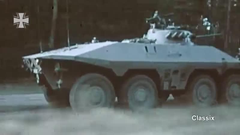 Classix Acht mal Acht der neue Spähpanzer Luchs 1974 Bundeswehr