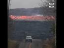 Скорость огненной лавы на Гавайях Dagestan today