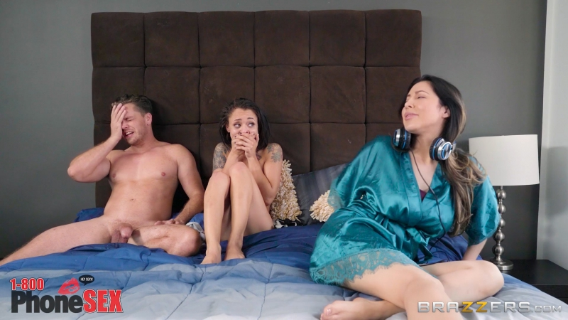 Holly Hendrix (1 800 Phone Sex: Line 3) 2017, Anal, Blowjob ( POV), Brunette, Cheating, Latina, Natural Tits,