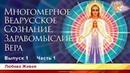 Многомерное Ведрусское Сознание Здравомыслие и Вера Любава Живая Выпуск 1 Часть 1