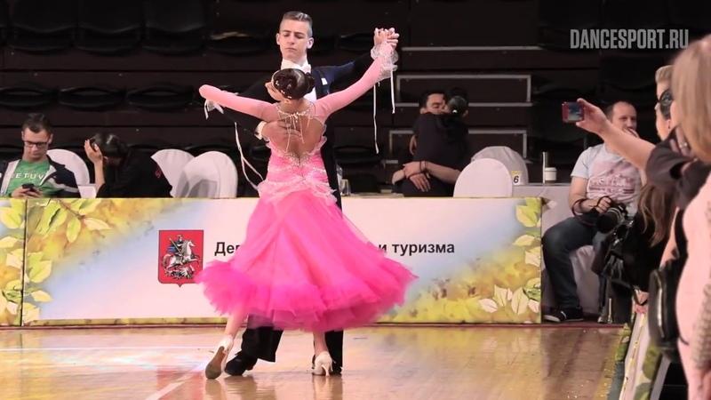 Пантелеев Игорь - Васильева Надежда, Tango   Юниоры-2, Европейская программа