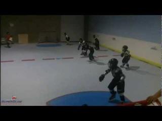 Тренировки хоккеистов на искусственном льду