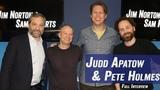Judd Apatow &amp Pete Holmes - Louis C.K.'s Leaked Set, Artie Lange, 'Crashing' - Jim &amp Sam Show
