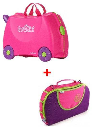 Бебиблог чемоданы trunki