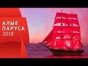 ⛵ Алые паруса 2018 ⛵ шоу, фейерверк, салют - вид со стрелки В.О.