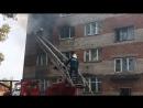 Пожар в общежитии на ул. Мелиораторов. 5.09.2018.