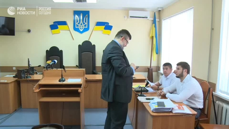 Заседание суда по продлению ареста Вышинского