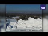Главная скульптура Харбинского фестиваля льда и снега