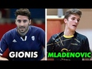 Panagiotis Gionis - Luka Mladenovic at Euro Qualification (Luxemburg vs Greece) 2018-10