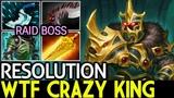 Resolution [Wraith King] WTF Crazy King Carry Game 20 Kill 7.18 Dota 2