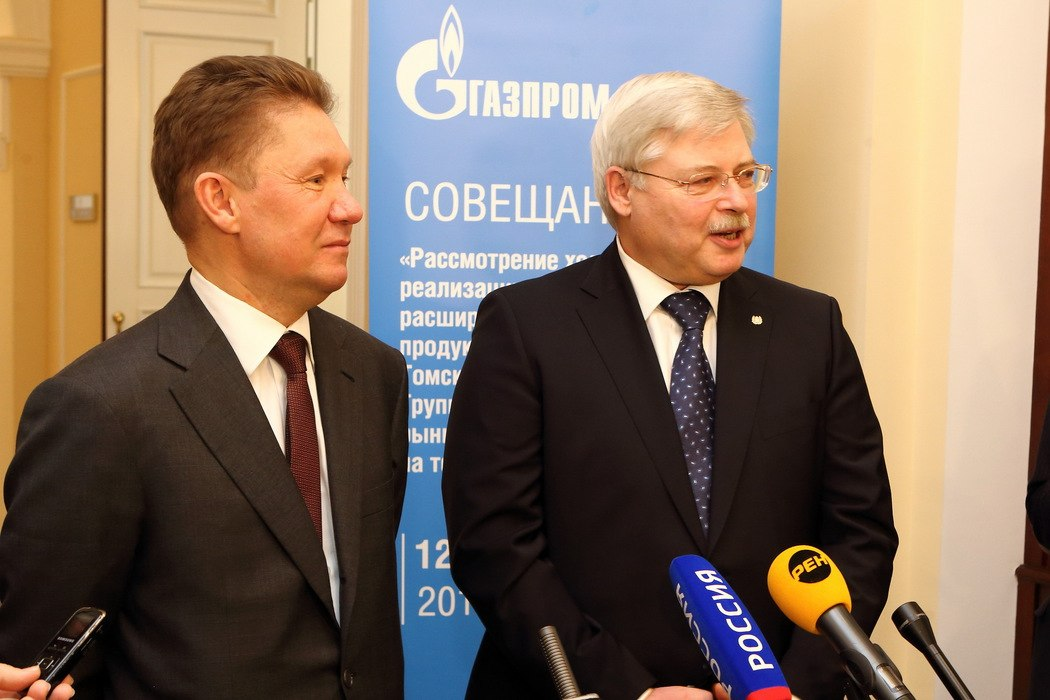 «Газпром» выделит 800 миллионов рублей на газификацию Томской области