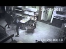 Meanwhile in China Kung Fu Girl vs 3 Guys in Cafe