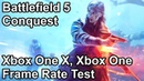 Battlefield 5 Conquest Multiplayer Xbox One and Xbox One X Frame Rate Test