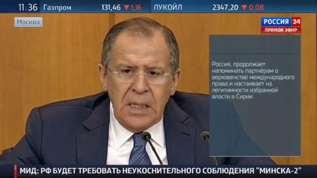 Новости на Россия 24 • Сергей Лавров ответил украинскому журналисту на вопрос о Донбассе и русском мире