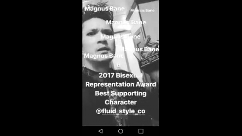 @BasicShadowStuf @HarryShumJr Oh my gosh! You post this and I just found this on my phone BiVisibilityDay biweek @ShadowhuntersT