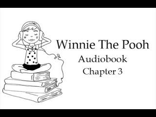 Винни-Пух и все-все-все. Глава 3. Аудиокнига на английском языке.