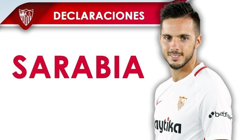 Sarabia: Hay que centrarse en ganar los dos próximos partidos en casa
