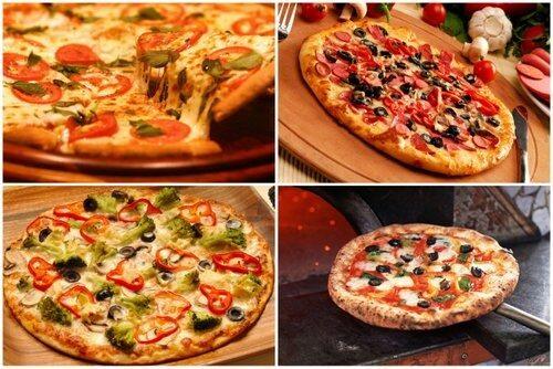 Как сделать пиццу в микроволновке рецепт с