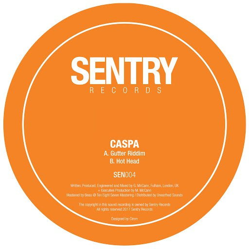 Caspa альбом Gutter Riddim / Hot Head