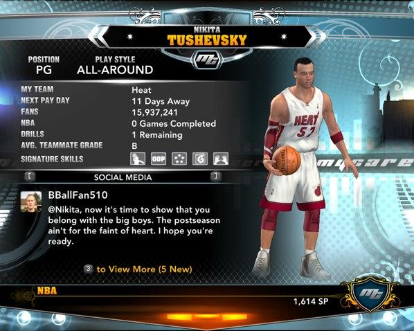 фанаты в НБА2К13