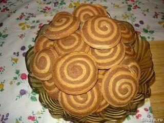 Песочное печенье «Улитки»