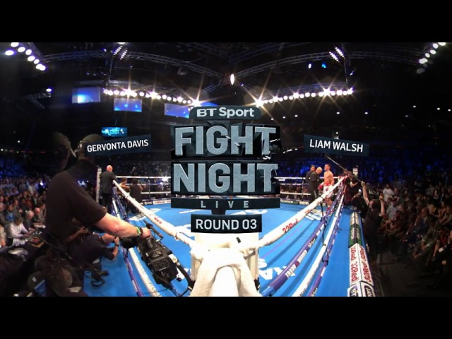 Fearsome Gervonta Davis stops Liam Walsh 360 Virtual Reality Boxing BT Sport