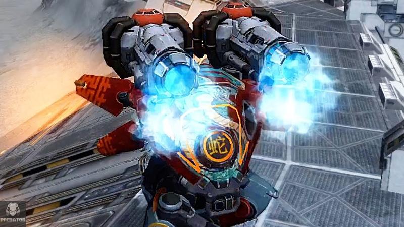 The Buffed Carnage Redeemer Now Pulverizing Robots | War Robots