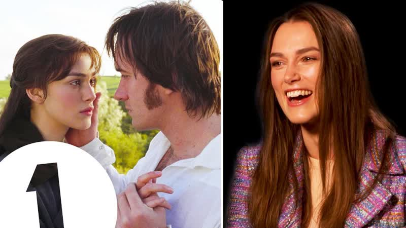 """""""I was so obsessed!"""" Keira Knightley on loving Pride Prejudice and partying through Atonement"""