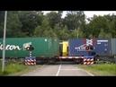 Spoorwegovergang De Lutte Dutch railroad crossing