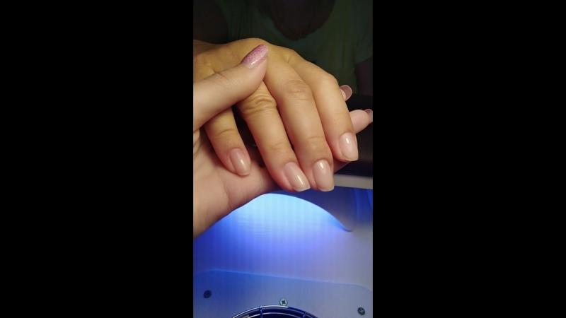 Мастер София. Выравнивание ногтевой пластины. Идеальный блик.