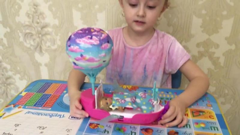 Игровой набор Барби Dreamtopia - Кукла Челси с кроваткой