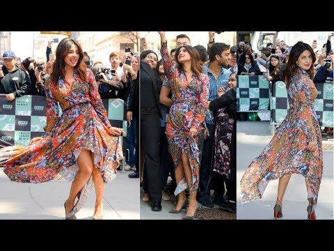 Watch Priyanka Chopra's Opps Moment at New York