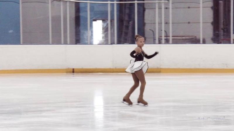 Ксения Суханова Династия 20181003 Ice Junior G 1U