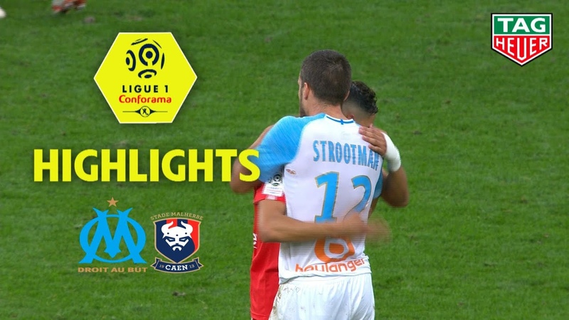 Olympique de Marseille - SM Caen ( 2-0 ) - Highlights - (OM - SMC) / 2018-19
