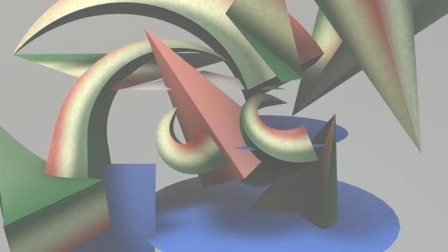 Giacomo Balla 3D animation