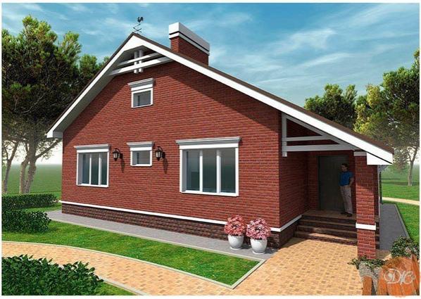 Дом площaдью 99,5 м2